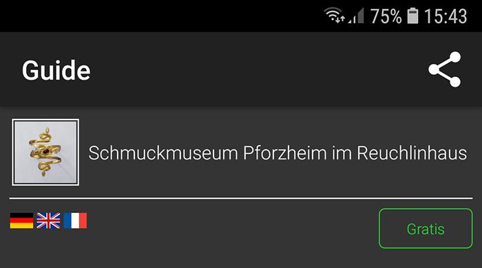 Schmuckmuseum Audioguide